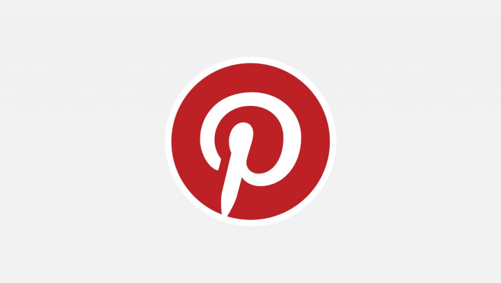 An image showing the Pinterest logo